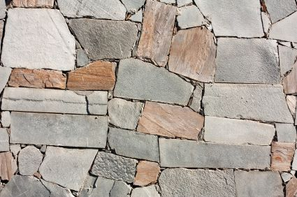 Stone masonry by Nick's Construction and Masonry LLC.